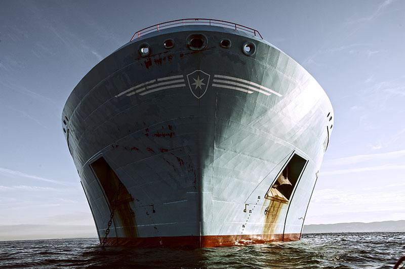 Maersk Erin vor Koper
