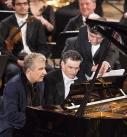 Am Klavier Jean-Yves Thibaudet und Philippe Jordan