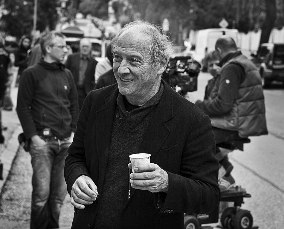 """Dreharbeiten zum """"Tatort - Nullsummenspiel"""" unter der Regie von Robert Dornhelm."""